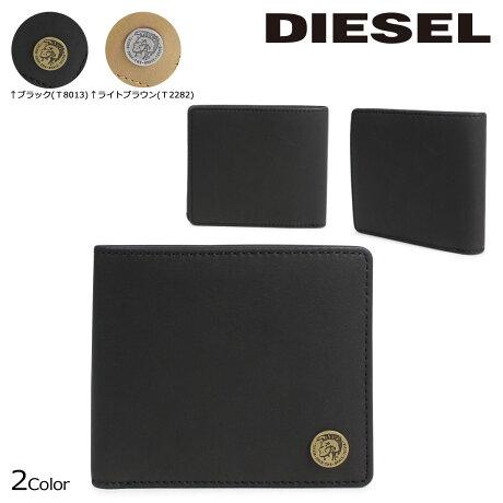 ディーゼル 財布 メンズ DIESEL 二つ折り HIRESH S X04373 PR013 2カラー [予約商品 6/20頃入荷予定 再入荷]