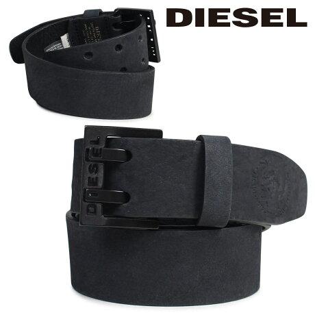 ディーゼル DIESEL ベルト メンズ バックル レザーベルト 本革 牛革 カジュアル ヴィンテージ BIT X03714 PR047 ブラック