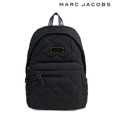 MARC JACOBS マークジェイコブス バッグ リュック バックパック M0011321 QUILTED BACKPACK レディース ブラック [9/7 再入荷]