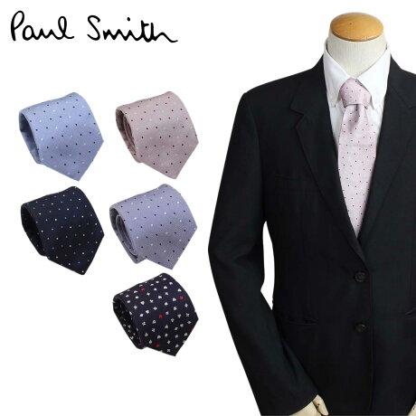 Paul Smith ネクタイ シルク メンズ ポールスミス ドット ギフト ケース付 イタリア製 ビジネス 結婚式 [3/6 追加入荷]