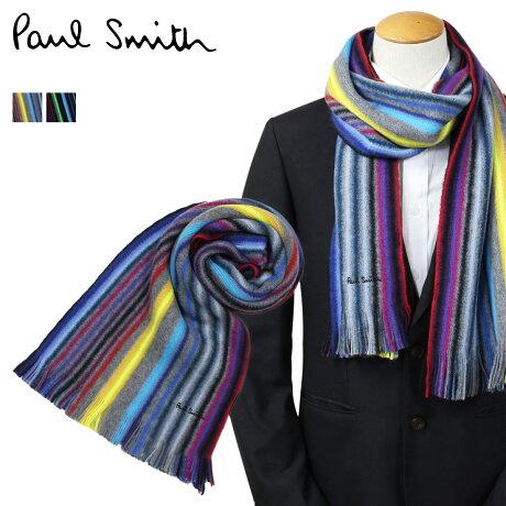 Paul Smith マフラー メンズ ポールスミス カジュアル ビジネス