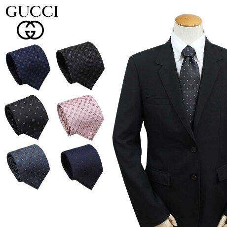GUCCI グッチ ネクタイ イタリア製 シルク ビジネス 結婚式 TIE メンズ [6/7 追加入荷]