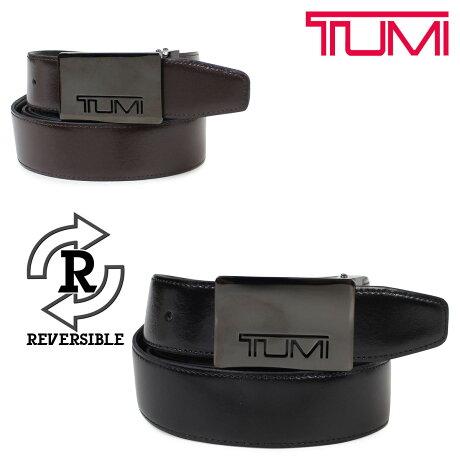 TUMI トゥミ ベルト メンズ レザー ブラック ブラウン リバーシブル フランス製 ビジネス カジュアル TU1321396C7 [7/3 追加入荷]