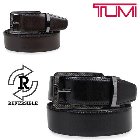 TUMI トゥミ ベルト メンズ レザー ブラック ブラウン リバーシブル フランス製 ビジネス カジュアル TU1321465C7 [6/12 追加入荷]