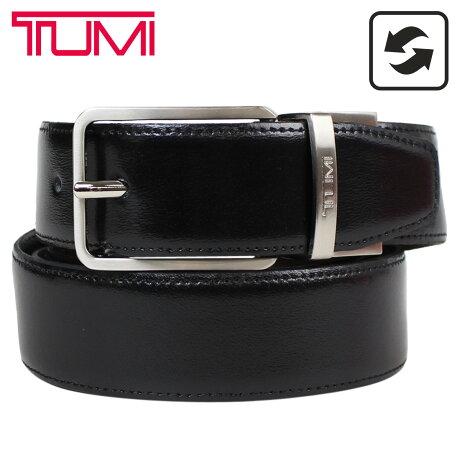 トゥミ TUMI ベルト メンズ レザー ブラック ブラウン リバーシブル フランス製 ビジネス カジュアル TU1321473C7 [3/6 追加入荷]