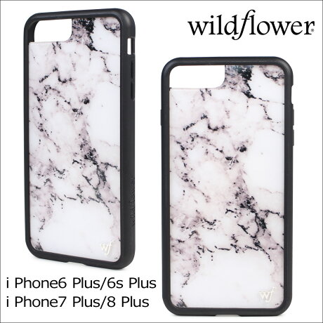 wildflower ケース スマホ iPhone8 Plus ワイルドフラワー iPhone ケース 7 6s 6 アイフォン レディース ハンドメイド [予約商品 4/28頃入荷予定 再入荷]【ネコポス可】