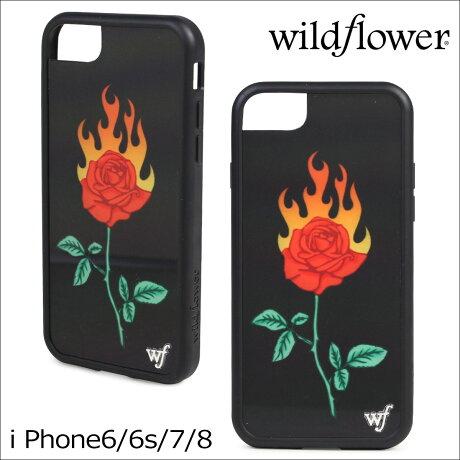 wildflower ケース スマホ iPhone8 ワイルドフラワー iPhone ケース 7 6 6s アイフォン レディース ハンドメイド [予約商品 4/28頃入荷予定 再入荷]【ネコポス可】