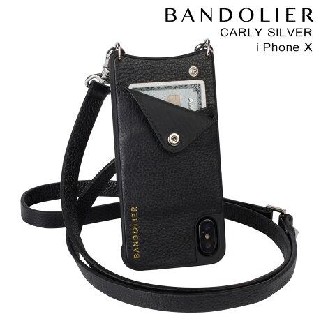 BANDOLIER バンドリヤー iPhoneX ケース スマホ アイフォン CARLY SILVER レザー メンズ レディース [予約商品 2/14頃入荷予定 新入荷]