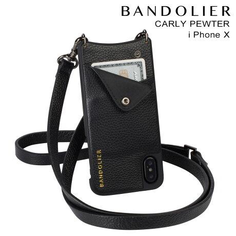 BANDOLIER バンドリヤー iPhoneX ケース スマホ アイフォン CARLY PEWTER レザー メンズ レディース [予約商品 2/14頃入荷予定 新入荷]