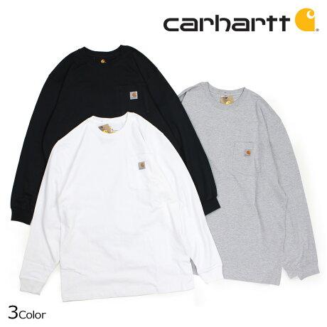 カーハート carhartt Tシャツ メンズ 長袖 ロンT WORKER POCKET LS T-SHIRTS K126 [6/28 追加入荷]