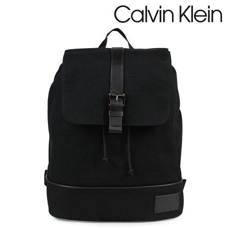 Calvin Klein カルバンクライン バッグ メンズ リュック バックパック COATED CANVAS PU BACKPACK ブラック 2975019796 [2/19 新入荷]