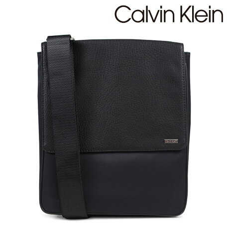 Calvin Klein カルバンクライン バッグ メンズ ショルダーバッグ COTTON NYLON REPORTER ブラック 75026796 [2/19 新入荷]