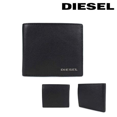 ディーゼル 財布 メンズ DIESEL 二つ折り財布 FRESH STARTER HIRESH S X04459 PR227 H5644 ブラック [2/26 新入荷]