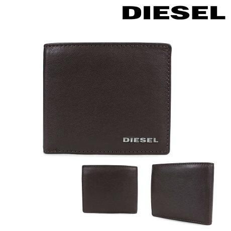 ディーゼル 財布 メンズ DIESEL 二つ折り財布 FRESH STARTER HIRESH S X04459 PR227 H6475 ブラウン [2/26 新入荷]