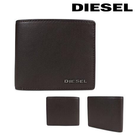 ディーゼル 財布 メンズ DIESEL 二つ折り財布 FRESH STARTER HIRESH S X04459 PR227 H6607 ブラウン [2/26 新入荷]