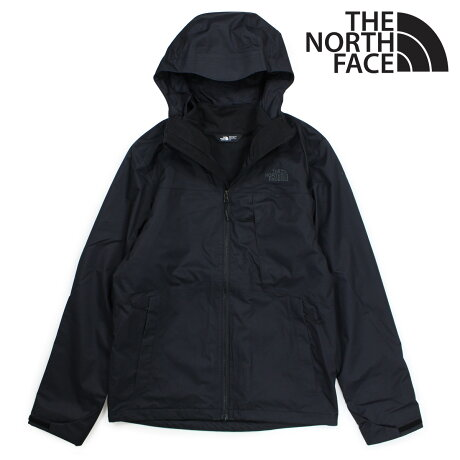 THE NORTH FACE ノースフェイス ジャケット マウンテンパーカー メンズ MENS ARROWOOD TRICLIMATE JACKET ブラック NF0A2TCN [3/8 新入荷]