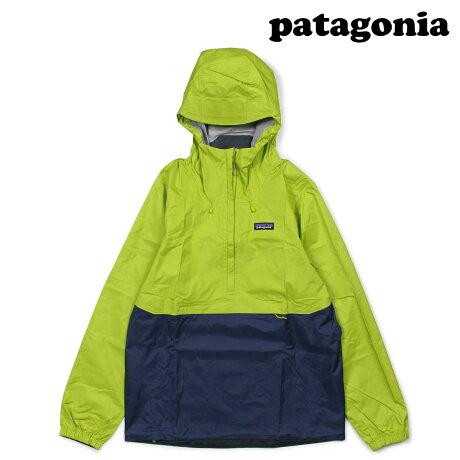 パタゴニア patagonia ジャケット メンズ プルオーバー MENS TORRENTSHELL PULLOVER グリーン 83932 [2/22 新入荷]