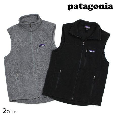 パタゴニア patagonia フリース ベスト メンズ MENS CLASSIC SYNCHILLA VEST ブラック グレー 23010 [2/22 新入荷]