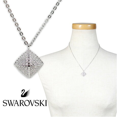 SWAROVSKI スワロフスキー ネックレス レディース TACTIC シルバー 5017069 [3/19 新入荷]
