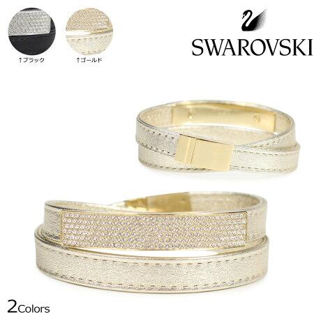 SWAROVSKI スワロフスキー ブレスレット レディース VIO ブラック ゴールド 5171994 M 5171996 M [3/22 新入荷]