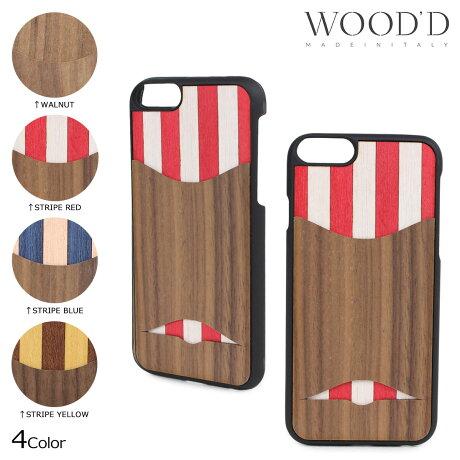 Wood'd ウッド iPhone8 iPhone7 6s ケース スマホ アイフォン POCKET 木製 メンズ レディース [3/22 新入荷]