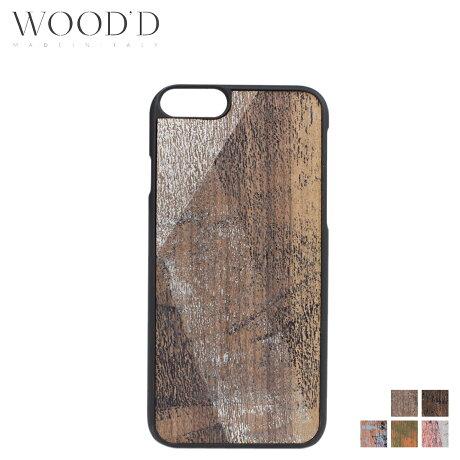 Wood'd ウッド iPhone8 iPhone7 6s ケース スマホ アイフォン VINTAGE 木製 メンズ レディース [3/22 新入荷]