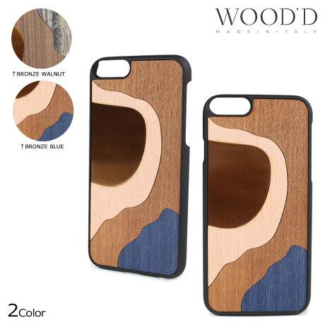 Wood'd ウッド iPhone8 iPhone7 6s ケース スマホ アイフォン ITALY INLAY 木製 メンズ レディース [3/22 新入荷]