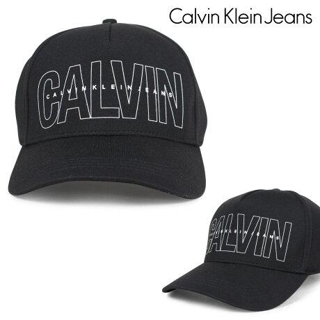 カルバンクライン ジーンズ Calvin Klein Jeans キャップ 帽子 メンズ レディース STRUCTURE FRONT LOGO BASEBALL DAD HAT ブラック 41GH901 [6/16 追加入荷]