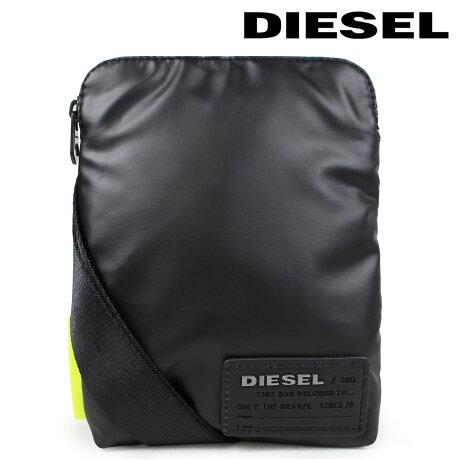 ディーゼル バッグ メンズ レディース DIESEL ショルダーバッグ DISCOVER-UZ F-DISCOVER SMALLCROSS X04815 P1157 T8013 ブラック [6/12 追加入荷]