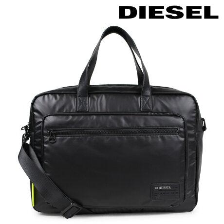 ディーゼル バッグ メンズ DIESEL ブリーフケース DISCOVER-UZ F-DISCOVER BRIEFCASE X05185 P1157 T8013 ブラック [6/12 追加入荷]