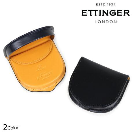 エッティンガー ETTINGER 財布 コインケース 小銭入れ メンズ BRIDLE TRAY PURSE ブラック ネイビー BH2127JR