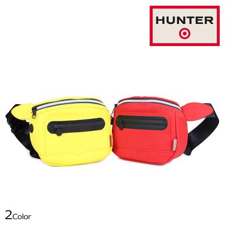 HUNTER ハンター バッグ ボディバッグ ウェストポーチ レディース メンズ ターゲット TARGET BUM BAG レッド イエロー 53053 [5/16 新入荷]