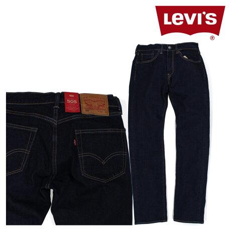 リーバイス 505 LEVI'S ストレート メンズ デニム パンツ REDTAB REGULAR STRAIGHT ネイビー 505-1554 [6/16 追加入荷]