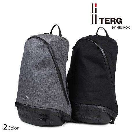 TERG BY HELINOX ターグ バイ へリノックス デイパック バックパック リュック メンズ レディース DAY PACK 23L ブラック グレー [7/12 追加入荷]