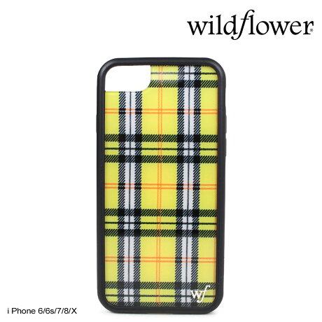 wildflower ケース スマホ iPhone8 X ワイルドフラワー iPhone ケース 7 6s 6 アイフォン レディース ハンドメイド イエロー [5/14 新入荷] 【ネコポス可】