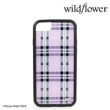 wildflower ケース スマホ iPhone8 X ワイルドフラワー iPhone ケース 7 6s 6 アイフォン レディース ハンドメイド パープル [5/14 新入荷] 【ネコポス可】