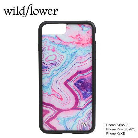 wildflower ケース スマホ iPhone8 X ワイルドフラワー iPhone ケース 7 6s 6 アイフォン レディース ハンドメイド ピンク [5/14 新入荷]