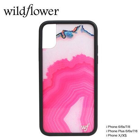 wildflower ケース スマホ iPhone8 ワイルドフラワー iPhone ケース 7 6s 6 アイフォン レディース ハンドメイド ピンク [5/14 新入荷]