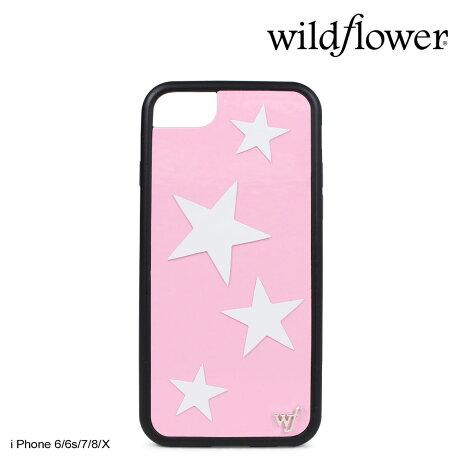 wildflower ケース スマホ iPhone8 X ワイルドフラワー iPhone ケース 7 6s 6 アイフォン レディース ハンドメイド ピンク [5/14 新入荷] 【ネコポス可】