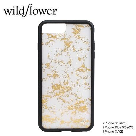 wildflower ケース スマホ iPhone8 X ワイルドフラワー iPhone ケース 7 6s 6 アイフォン レディース ハンドメイド ゴールド [5/14 新入荷] 【ネコポス可】