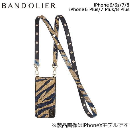 BANDOLIER バンドリヤー iPhone8 iPhone7 7Plus 6s ケース スマホ アイフォン プラス ROMY GOLD DENIM メンズ レディース [6/1 新入荷]