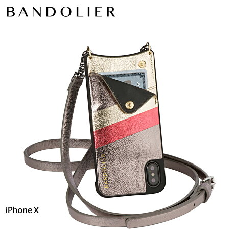 BANDOLIER バンドリヤー iPhoneX ケース スマホ アイフォン EMMA ASH RAINBOW レザー メンズ レディース [6/1 新入荷]