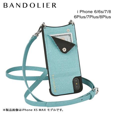 BANDOLIER バンドリヤー iPhone8 iPhone7 7Plus 6s ケース スマホ アイフォン プラス EMMA GREEN SPARKLE メンズ レディース [6/1 新入荷]