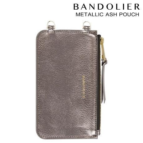 BANDOLIER バンドリヤー ポーチ METALLIC ASH POUCH GOLD レザー メンズ レディース アッシュ [6/1 新入荷]