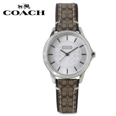 COACH コーチ 腕時計 レディース シグネチャー レザー ブラウン 14501525 [5/22 新入荷]