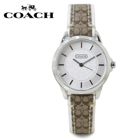 COACH コーチ 腕時計 レディース シグネチャー レザー ブラウン 14501526 [5/22 新入荷]