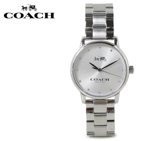 COACH コーチ 腕時計 レディース シルバー 14502926 [5/22 新入荷]