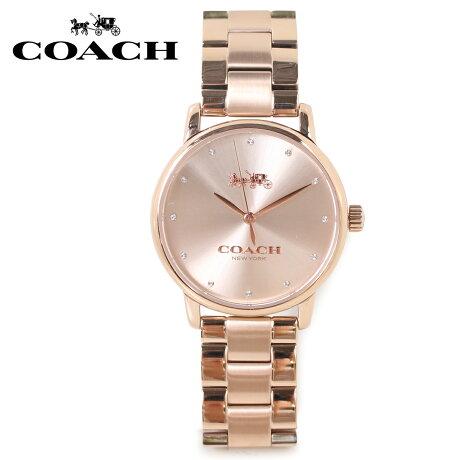 COACH コーチ 腕時計 レディース ローズゴールド 14502929 [5/22 新入荷]