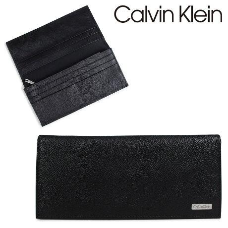 カルバンクライン Calvin Klein 財布 メンズ 長財布 小銭入れ付 YEN SECRETARY ブラック 79219 [9/4 再入荷]