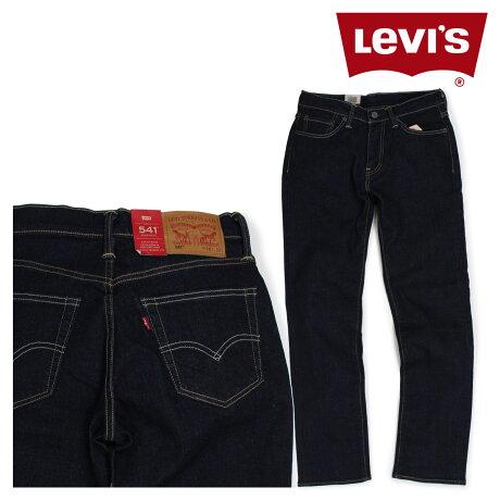 LEVI'S 541 リーバイス ストレート メンズ デニム パンツ RINSE ATHLETIC STRETCH ネイビー 18181-0143 [5/17新入荷]